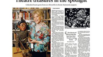 MOSMAN DAILY WELCOMES THE FOUNDATION AND ITS PERFORMING ARTS 'TREASURE TROVE'